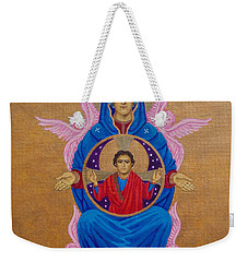 Mary Mother Of Mercy Icon - Jubilee Year Of Mercy Weekender Tote Bag