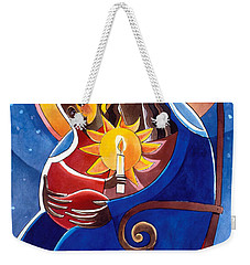 Mary, Seat Of Wisdom - Mmwis Weekender Tote Bag