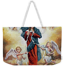 Mary Untier Of Knots Weekender Tote Bag