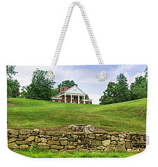 Weekender Tote Bag featuring the photograph Marye's House by John M Bailey