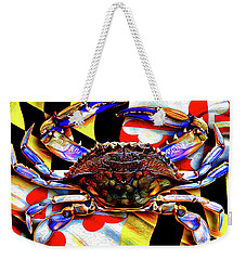 Maryland Blue Crab Weekender Tote Bag
