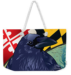 Maryland Citizen Raven Weekender Tote Bag