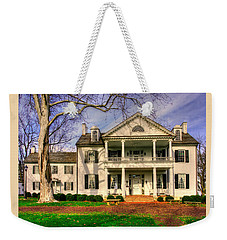 Maryland Country Roads - Historic Rose Hill Manor No. 12 - Frederick Maryland Weekender Tote Bag