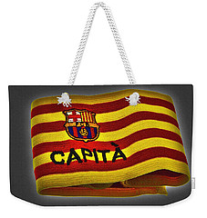 Weekender Tote Bag featuring the photograph Mas Que Un Capitan ... by Juergen Weiss