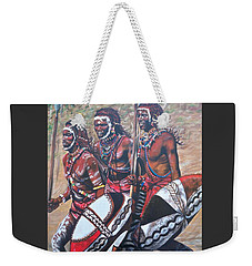 Masaai Warriors Weekender Tote Bag