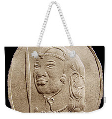 Masai Warrior Weekender Tote Bag by Suhas Tavkar