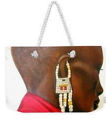 Masai Woman - Original Artwork Weekender Tote Bag
