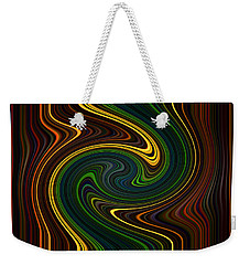 Masculine Waves Weekender Tote Bag