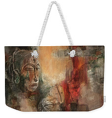 Symbol Mask Painting - 08 Weekender Tote Bag