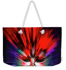 Weekender Tote Bag featuring the photograph Mask One by Ken Frischkorn