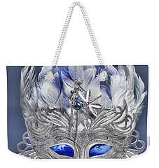 Mask Still Life Blue Weekender Tote Bag