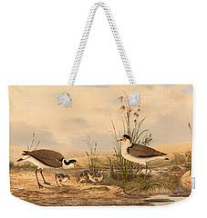Masked Lapwing Weekender Tote Bag