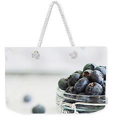 Mason Jar Full Of Blueberries Weekender Tote Bag