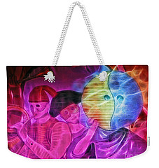 Masquerade Weekender Tote Bag by Sue Melvin