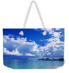 Massive Caribbean Clouds Weekender Tote Bag