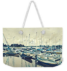 Mast Reflection Weekender Tote Bag