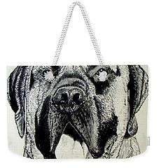 Mastiff Weekender Tote Bag by Stan Hamilton
