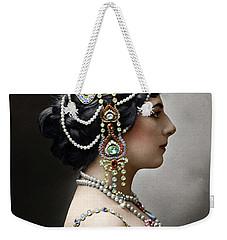 Weekender Tote Bag featuring the photograph Mata Hari by Granger