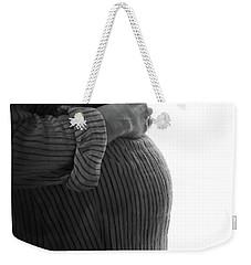 Maternity Silhouette Weekender Tote Bag