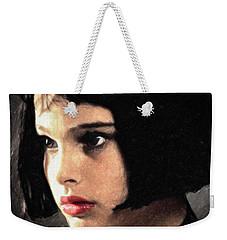 Mathilda Weekender Tote Bag by Taylan Apukovska