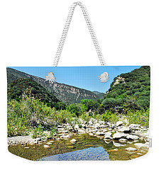 Weekender Tote Bag featuring the photograph Matilija Hot Springs by Kyle Hanson