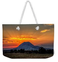 Mato Paha, The Sacred Mountain Weekender Tote Bag