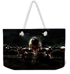 Weekender Tote Bag featuring the photograph Mats Constellation by John Schneider