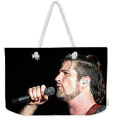 Matt Nathanson Weekender Tote Bag by Cindy Manero