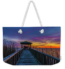 Mattamuskeet Lake Weekender Tote Bag