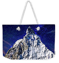 Matterhorn At Twilight Weekender Tote Bag
