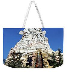 Matterhorn Disneyland Weekender Tote Bag