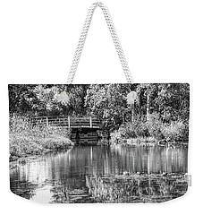 Matthaei Botanical Gardens Black And White Weekender Tote Bag