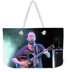 Weekender Tote Bag featuring the photograph Matthews For President by Aaron Martens