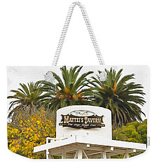 Weekender Tote Bag featuring the photograph Matties Tavern Los Olivos California by Floyd Snyder
