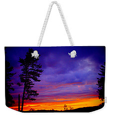 Maudslay Sunset 2 Weekender Tote Bag