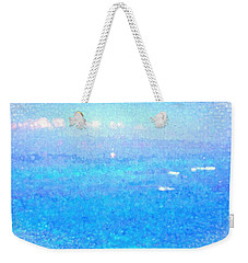 Weekender Tote Bag featuring the photograph Maui Memories by Kathy Bassett