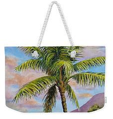 Maui Palm Weekender Tote Bag