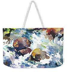 Maui Rapids Weekender Tote Bag