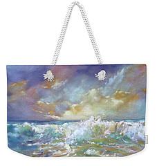 Maui Riptide Weekender Tote Bag by Rae Andrews