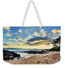 Maui Sunset Panorama Weekender Tote Bag