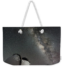 Mauna Kea Night Weekender Tote Bag