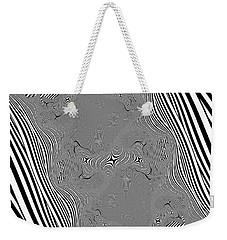 Weekender Tote Bag featuring the digital art Mauruating by Andrew Kotlinski