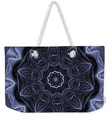 Mauve Rose Mandala Weekender Tote Bag