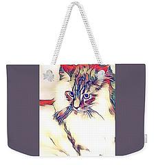 Max The Cat Weekender Tote Bag