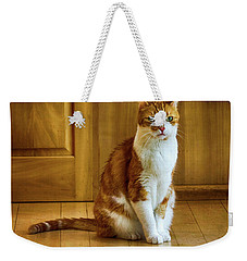 Max The Thinker Weekender Tote Bag
