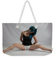 Maxina Stretching Out Weekender Tote Bag