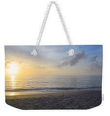 Weekender Tote Bag featuring the photograph May 28th Sunrise by Barbara Ann Bell