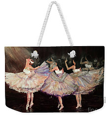 May Ballet Recital Weekender Tote Bag