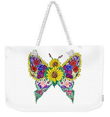 May Butterfly Weekender Tote Bag