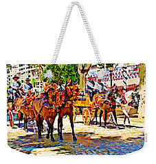 May Day Fair In Sevilla, Spain Weekender Tote Bag